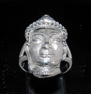 Picture of 21 x ANCIENT STYLE STERLING SILVER KHMER BUDDHA PHRA PHROM ANGKOR WAT WHOLESALE-LOT