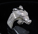 Picture of 21 x STERLING SILVER MEN'S RINGS EGYPT WOLF PHARAO OSIRIS WHOLESALE-LOT
