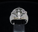 Picture of 21 x STERLING SILVER MEN'S RINGS FOUR ARROW MARINERS CROSS WHOLESALE-LOT