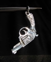 Picture of 21 x STERLING SILVER PENDANTS WITH A BERETTA HAND GUN REVOLVER WHOLESALE-LOT