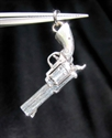 Picture of 21 x STERLING SILVER PENDANTS WITH A OLD WEST HAND GUN REVOLVER PISTOL WHOLESALE-LOT