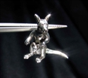 Picture of 21 x STERLING SILVER PENDANTS KANGAROO WITH BABY WHOLESALE-LOT