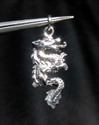 Picture of 21 x STERLING SILVER PENDANTS SMALL MEDIEVAL DRAGON WHOLESALE-LOT