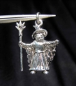 Picture of 21 x STERLING SILVER PENDANTS SMALL WIZARD WHOLESALE-LOT