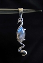 Picture of 21 x STERLING SILVER PENDANTS WITH MARQUISE SHAPED LABRADORITE WHOLESALE-LOT