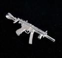 Picture of 21 x STERLING SILVER PENDANTS MACHINE GUN KALASHNIKOV WHOLESALE-LOT