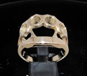 Picture of 21 x BRONZE MEN'S RINGS BRASS KNUCKLE DUSTER KNUCKS WHOLESALE-LOT