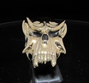 Picture of 21 x BRONZE MEN' BIKER RINGS VAMPIRE SKULL DRACULA TWILIGHT WHOLESALE-LOT