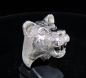 Picture of 21 x STERLING SILVER ANIMAL RINGS FEMALE LION LIONESS WHOLESALE-LOT