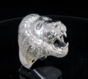 Picture of 21 x STERLING SILVER MEN'S ANIMAL RINGS MALE LION KING WHOLESALE-LOT
