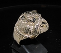 Picture of 21 x BRONZE MEN'S ANIMAL RINGS BULLDOG ARMY MASCOT WHOLESALE-LOT