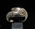 Picture of 21 x BRONZE MEN'S FANTASY RINGS DRAGON CLAW TWO TALON WHOLESALE-LOT