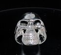 Picture of 21 x STERLING SILVER MEN'S BIKER RINGS GRINNING PHANTOM SKULL STREETFIGHTER WHOLESALE-LOT