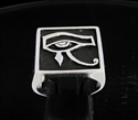 Picture of 21 x STERLING MEN'S SIGNET SILVER RINGS UDJAT EYE OF RA EGYPT ANTIQUED WHOLESALE-LOT