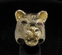 Picture of 21 x BRONZE RINGS FEMALE LIONESS HUNTRESS RED CZ EYES WHOLESALE-LOT