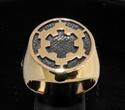 Picture of 21 x BRONZE MEN'S SIGNET RINGS STAR WARS IMPERIAL COAT OF ARMS WHOLESALE-LOT
