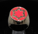 Picture of 21 x BRONZE MEN'S SIGNET RINGS STAR WARS IMPERIAL COAT OF ARMS RED WHOLESALE-LOT