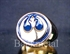 Picture of 21 x BRONZE RINGS STAR WARS REBEL ALLIANCE COAT OF ARMS BLUE WHOLESALE-LOT