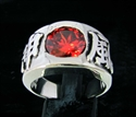 Picture of 21 x STERLING MEN'S BAND SILVER RINGS KAMIKAZEE JAPANESE WARRIOR WHOLESALE-LOT