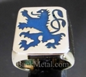 Picture of 21 x BRONZE RINGS BAVARIAN BLUE LION COAT OF ARMS WHOLESALE-LOT