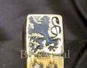 Picture of 21 x BRONZE RINGS BAVARIAN DARK BLUE LION COAT OF ARMS WHOLESALE-LOT