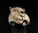 Picture of 21 x BRONZE ANIMAL RINGS ARTWORK SLEEPING LIONESS WHOLESALE-LOT