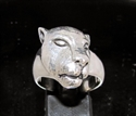 Picture of 21 x STERLING SILVER ARTWORK RINGS SLEEPING LIONESS WHOLESALE-LOT