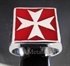 Picture of 21 x STERLING SILVER RINGS MALTESE CROSS CRUSADER MALTA RED WHOLESALE-LOT