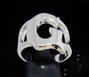 Picture of 21 x STERLING SILVER INITIAL RINGS ONE 1 CAPITAL BLOCK LETTER G WHOLESALE-LOT