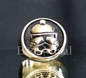 Picture of 21 x BRONZE RINGS STAR WARS IMPERIAL STORMTROOPER DEATH STAR WHOLESALE-LOT