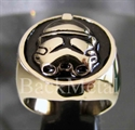 Picture of 21 x BRONZE RINGS STAR WARS IMPERIAL STORMTROOPER DEATH STAR BLACK WHOLESALE-LOT