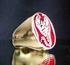 Picture of 21 x BRONZE MEN'S SIGNET ZODIAC RINGS SCORPIO SCORPIONS DARK RED WHOLESALE-LOT