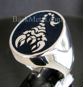 s big women zodiac steel stainless joe biker r scorpio men or ring rings