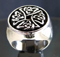 "Picture of 21 x STERLING SILVER RINGS "" CELTIC IRON CROSS "" KNOT SPIRAL WHOLESALE-LOT"