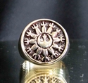 "Picture of 21 x BRONZE RINGS "" STAR WARS REBEL ALLIANCE "" NEW REPUBLIC ANTIQUED WHOLESALE-LOT"