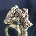 "Picture of 21 x BRONZE RINGS "" BIG TRIBAL DRAGON 2 "" FUCHUR FANTASY WHOLESALE-LOT"