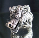 "Picture of 21 x STERLING SILVER RINGS "" BIG TRIBAL DRAGON 2 "" FUCHUR FANTASY WHOLESALE-LOT"