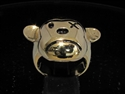 Picture of 21 x BRONZE MEN'S BIKER RINGS SAD TEDDY BEAR ANTIQUED WHOLESALE-LOT