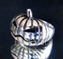 Picture of 21 x STERLING SILVER HALLOWEEN RINGS MOODY PUMPKIN WHOLESALE-LOT