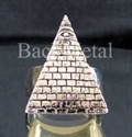 Picture of 21 x STERLING SILVER RINGS EYE OF THE PYRAMID RA UDJAT DOLLAR NOTE WHOLESALE-LOT
