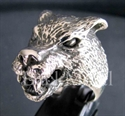 Picture of 21 x STERLING SILVER RINGS AMERICAN WEREWOLF GOTHIC LOBO WOLF WHOLESALE-LOT
