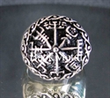 Picture of 21 x STERLING SILVER RINGS VIKING SHIELD RUNES WAR SYMBOL WHOLESALE-LOT