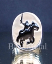 Picture of 21 x STERLING SILVER RINGS KNIGHT ON HORSE BLACK WHOLESALE-LOT