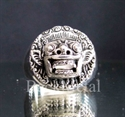 Picture of 21 x STERLING SILVER RINGS BALINESE SPIRITUAL LEADER BARONG INDONESIA WHOLESALE-LOT