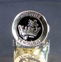 Picture of 21 x BRONZE RINGS TEMPLAR KNIGHT COAT OF ARMS CROSS & CROWN BLACK WHOLESALE-LOT