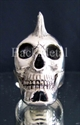 Picture of 21 x STERLING SILVER RINGS THE PUNK SKULL EXPLOITED ROCK N ROLL WHOLESALE-LOT