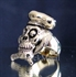 Picture of 21 x ARTWORK BRONZE RINGS CHEF COOK SKULL CROSSED KNIFE AND FORK WHOLESALE-LOT