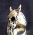 Picture of 21 x BRONZE BIKER RINGS LONG HORN VAMPIRE SKULL TOTENKOPF EMO WHOLESALE-LOT