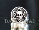 Picture of 21 x STERLING SILVER RINGS STAR OF DAVID HEXAGON HEXAGRAM OCULT SKULL WHOLESALE-LOT
