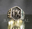 Picture of 21 x SOLID OUTLAW BRONZE BIKER RINGS CELTIC DESIGN 1% ER MOTORBIKE CLUB MC WHOLESALE-LOT